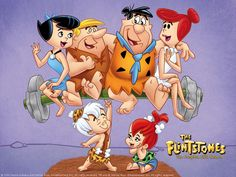 cute Flintstones wallpapers and coloring pages. Flintstones is a family tv series based on stone age era. most of the flinstones property. Cartoon Cartoon, Cartoon Posters, Cartoon Images, Fred Flintstone, Pebbles Flintstone, Flintstone Family, Comics Und Cartoons, Good Cartoons, Old School Cartoons