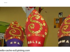School Themes, December, Santa, Crafts, Winter, Noel, Crowns, Winter Time, Manualidades