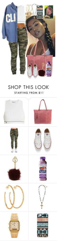 """""""Untitled #3017"""" by astoldby-kay ❤ liked on Polyvore featuring T By Alexander Wang, Mobile Edge, Converse, Michael Kors, Carla Amorim, Dolce&Gabbana, American Apparel and BlissfulCASE"""