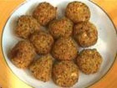 How to Make Falafel - Crispy Fried Garbanzo Bean/Chickpea Fritter Recipe - YouTube