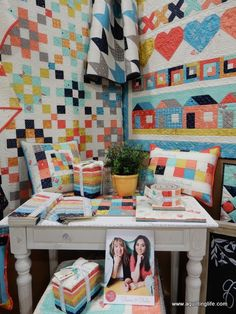A Quilting Life - a quilt blog: Quilt Market Spring 2016