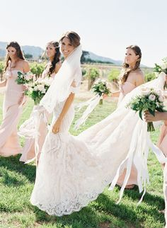 Picture perfect vineyard wedding by Jose Villa  #wedding #photography