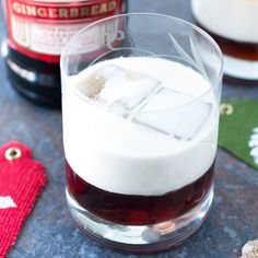 Whip up a pepperminty, gingerbready variation of this classic cocktail, dude.