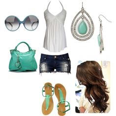 summer pop, created by sukabi on Polyvore