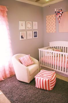 12 girly nursery tours that will tickle you pink! | #BabyCenterBlog #girlnurseries