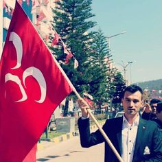 Diyarbakır'dan resim gönderen ülküdaşımız.