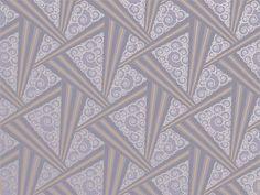 Art Deco Style Zenith Wallpaper in Periwinkle Vintage Wallpaper Patterns, Art Deco Wallpaper, Retro Wallpaper, Pattern Wallpaper, Wallpaper Designs, Art Deco Living Room, Art Deco Rugs, Inspiration Art, Art Deco Pattern