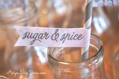 Pink & Grey Elephant Baby Shower Party Ideas