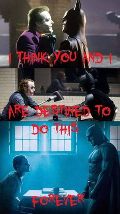 Batman is the best.