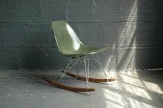 Herman Miller Fiberglass RSR Rocking Chair