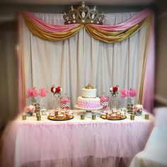 Gold 3D Princess Crown Canopy By: Wake Up Sweet Pea