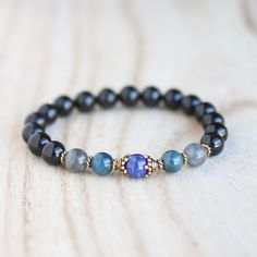 Healing Crystal Bracelets · Protection from Psychic Attack. Protection  Bracelet. Stress Relief. Dissolve Negative Energy. Regulate 2ad5524c4