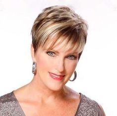 Try Two Toned Hairstyles for Older Women