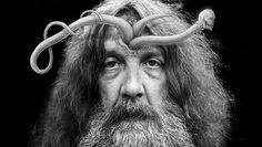 Watch Alan Moore Try to Blow Up a Lemon With His Mind