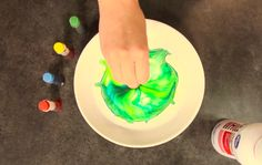 Super fun food coloring activities for the kids!