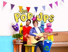 """The Pop Ups released a new web series! 5 episodes with a new video for """"Robot Dance."""" Check out the video and read an exclusive interview with Jacob Stein and animator Garrett Davis. http://kidscangroove.com/2015/05/13/new-video-robot-dance-by-the-pop-ups-and-interview-with-jacob-stein-and-animator-garrett-davis/ #GarrettDavis"""