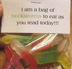 Bookworm treats :)