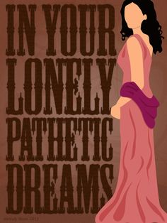 Inara - In your lonely pathetic dreams. Art Print by Melody G. Stone | Society6