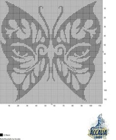 Butterfly Cross Stitch, Butterfly Pattern, Plastic Canvas Crafts, Plastic Canvas Patterns, Needlepoint Stitches, Embroidery Stitches, Cross Stitch Charts, Cross Stitch Patterns, Swedish Weaving