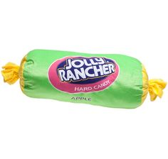 Big Plush Apple Jolly Rancher Candy Pillow