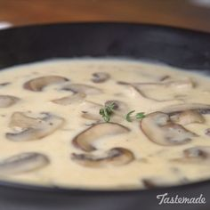 After tasting this homemade mushroom soup, you'll never want the canned stuff again. Who could say no to wild rice & mushroom soup! Homemade Mushroom Soup, Mushroom Soup Recipes, Easy Soup Recipes, Crockpot Recipes, Vegetarian Recipes, Cooking Recipes, Healthy Recipes, Mushroom Meals, Recipes For Mushrooms