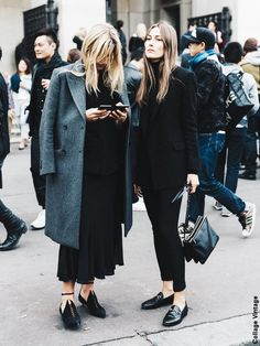 Long pardessus et manteau 3/4, mode d'emploi - Tendances de Mode