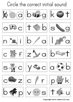 Alphabet & Phonics Worksheets @Jenny Davidson weren't you looking for something like this yesterday?