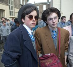 Ferdia Walsh-Peelo and Mark McKenna in Sing Street