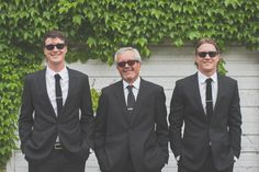 Sophisticated and classy groomsmen. www.greenseedphotography.com
