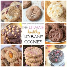 the ultimate healthy no bake cookies