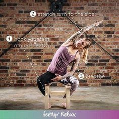 FeetUp® the Inversions Trainer for Yoga, Fitness and Relaxation Yoga Handstand, Yoga Inversions, Planet Fitness, Yoga Pilates, Pilates Reformer, Yoga Fitness, Fitness Diet, Health Fitness, Personal Training Studio