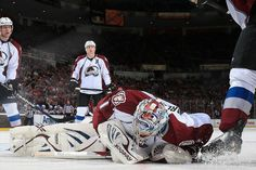 Semyon Varlamov of the Colorado Avalanche  4-1-13