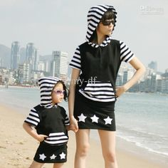 Wholesale Family Dress Alikes - Buy Family Fashion Summer Set Clothes Forclothes for Mother And Daughter Spring Pack Short-sleeve, $23.37 | DHgate