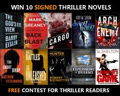 Win 10 Signed Thriller Books Enter here: http://brandonjett.com/index.php/giveaways/giveaway1/?lucky=327