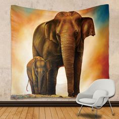 This beautiful elephant tapestry comes in many different varieties. This Tapestry is an awesome centerpiece for any space, you can use it as a tablecloth, bedspread or picnic blanket as well! Elephant Spirit Animal, Your Spirit Animal, Bohemian Tapestry, Mandala Tapestry, New Lotus, Animals Information, Elephant Tapestry, Lotus Mandala, Water Animals