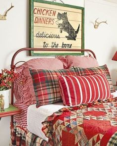 Weekends were made for cozy bedrooms like this! (
