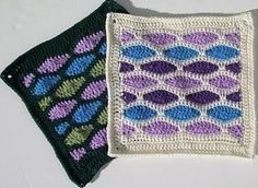 """Day 30: 12"""" Block of the Day - Stained Glass Square by Melinda Miller  An nontraditional square to end the collection :D  Free Pattern: http://www.ravelry.com/patterns/library/stained-glass-square---12-square/  June 2013 #TheCrochetLounge #12""""Square Pick #crochet #grannysquare"""