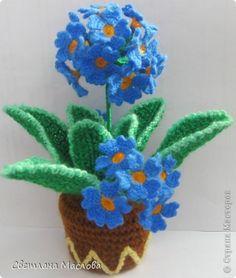 Crochet Flower basket, with chart Crochet Home, Crochet Gifts, Knit Crochet, Yarn Flowers, Diy Flowers, Crochet Flower Patterns, Crochet Flowers, Crochet Bouquet, Flower Chart