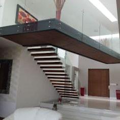 Escalera: Pasillo, hall y escaleras de estilo  por AParquitectos