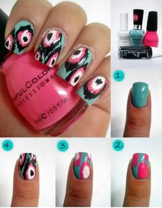 Love these nails I need to get mine done like this ;)
