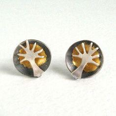 tree dome earrings