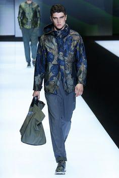 Emporio Armani   Menswear - Spring 2017   Look 63