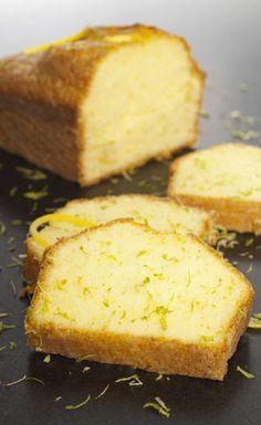 Cake au citron en machine à pain
