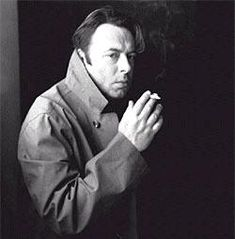 The man I would marry were I born a little earlier and he did not die of cancer. Amazing Hitch.