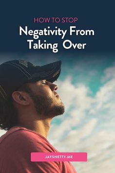 """Visit to learn how to identify and remove toxic negativity from your life. Jay Shetty talks about the 7 types of negative people explained in his book, """"Think Like a Monk."""" Jay also explores the types of negative interactions we deal with daily and how to avoid getting influenced by them. I'm Jay Shetty - author, podcast host, former monk, and purpose coach. My vision is to make wisdom go viral in an accessible, relevant & practical way. Self Development, Personal Development, Removing Negative Energy, Train Your Mind, Negative People, That One Friend, Toxic Relationships, Staying Positive, How To Stay Motivated"""