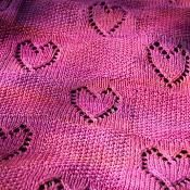 With Love Baby Blanket - via @Craftsy