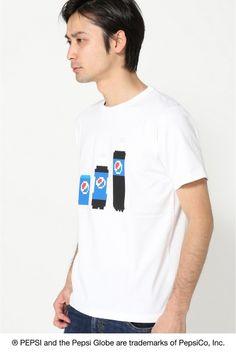 PEPSIOOZU Tシャツ  PEPSIOOZU Tシャツ 3000 PEPSI?B.C STOCK これまでの象徴的な広告キャンペーンを通じてPepsi-ColaはSPORT ART MUSICの世界とのきずなつながりを確立しています 今回のコレクションでは遊び心を取り入れたPepsiのつながりであるARTからインスピレーションを得ています Pepsiをテーマに国内人気アーティストの書き下ろしアートワークを使用したTシャツを発売致します 大図まことクロスステッチデザイナー/ピクセルデザイナー 2008年に勤務先の手芸材料店を退職しクロスステッチデザイナーとして活動を開始大きな体から生み出される作品は男性ならではのポップなデザインが魅力女性のフィールドと思われていた手芸界に現れた話題のルーキーは手芸の枠を越えカルチャーアートシーンからも熱い注目を浴びる手芸本執筆テレビ出演の他各地で精力的に刺繍教室を開催中 モデルサイズ:身長:182cm バスト:91cm ウェスト:72cm ヒップ:91cm 着用サイズ:M