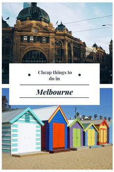 There are so many reasons to visit Melbourne. The �big-ticket� cultural and sporting events such as theatre, concerts, cricket and the Australian Open are major attractions. Yet there is also so much more to see and do in Melbourne without breaking the bu
