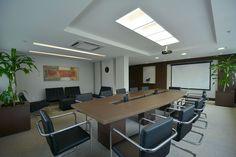 Sala de reunião empreendimento Getúlio Vargas, construtora Cyrela Goldsztein. Projeto e execução do escritório especializado em áreas condominiais de Porto Alegre, BG arquitetura.