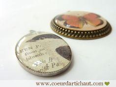 Création de bijoux en résine, tutoriel tôme 4 par Coeur d'artichaut